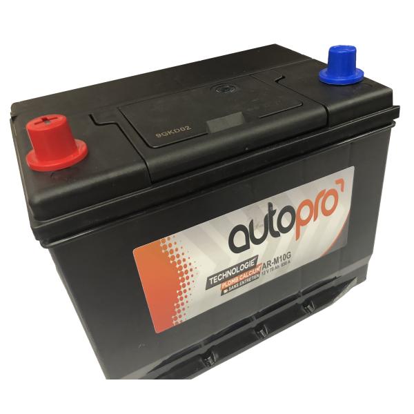 Autopro Batterie AUTOPRO 1er prix SMF AR-M10G  70AH 600 AMPS 261x175x220 +G