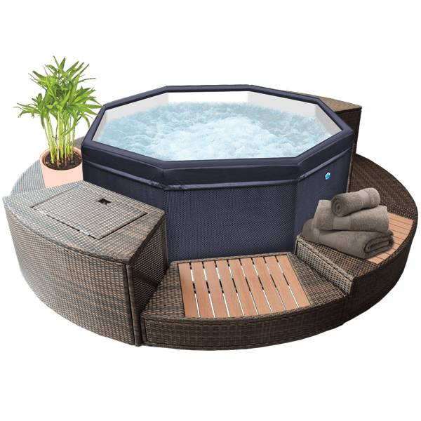 Spa Netspa Octopus + mobilier