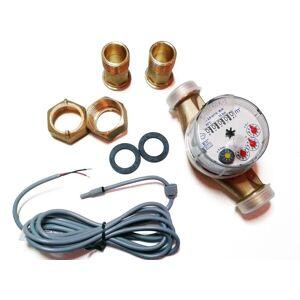 Gioanola Compteur d'eau froide avec sortie impulsion (1 imp. / 1 litre) DN15 - Publicité