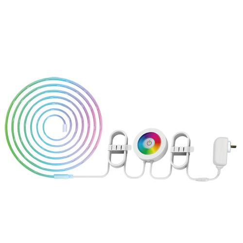 nivian ruban led 2m connecté wifi rgb compatible google home et alexa - nivian