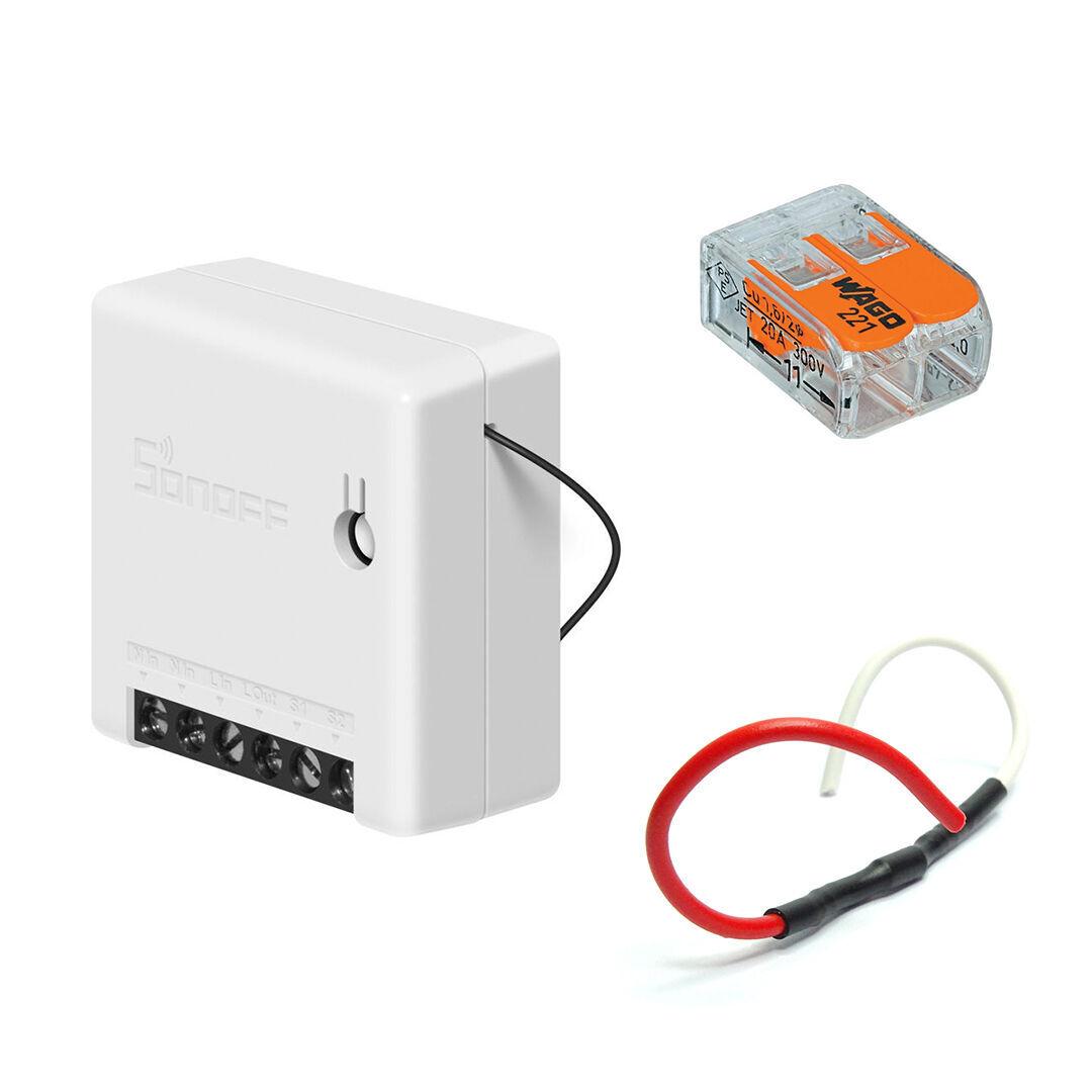 Planète Domotique Kit de gestion de chauffage fil pilote en WiFi compatible Google Home et Alexa