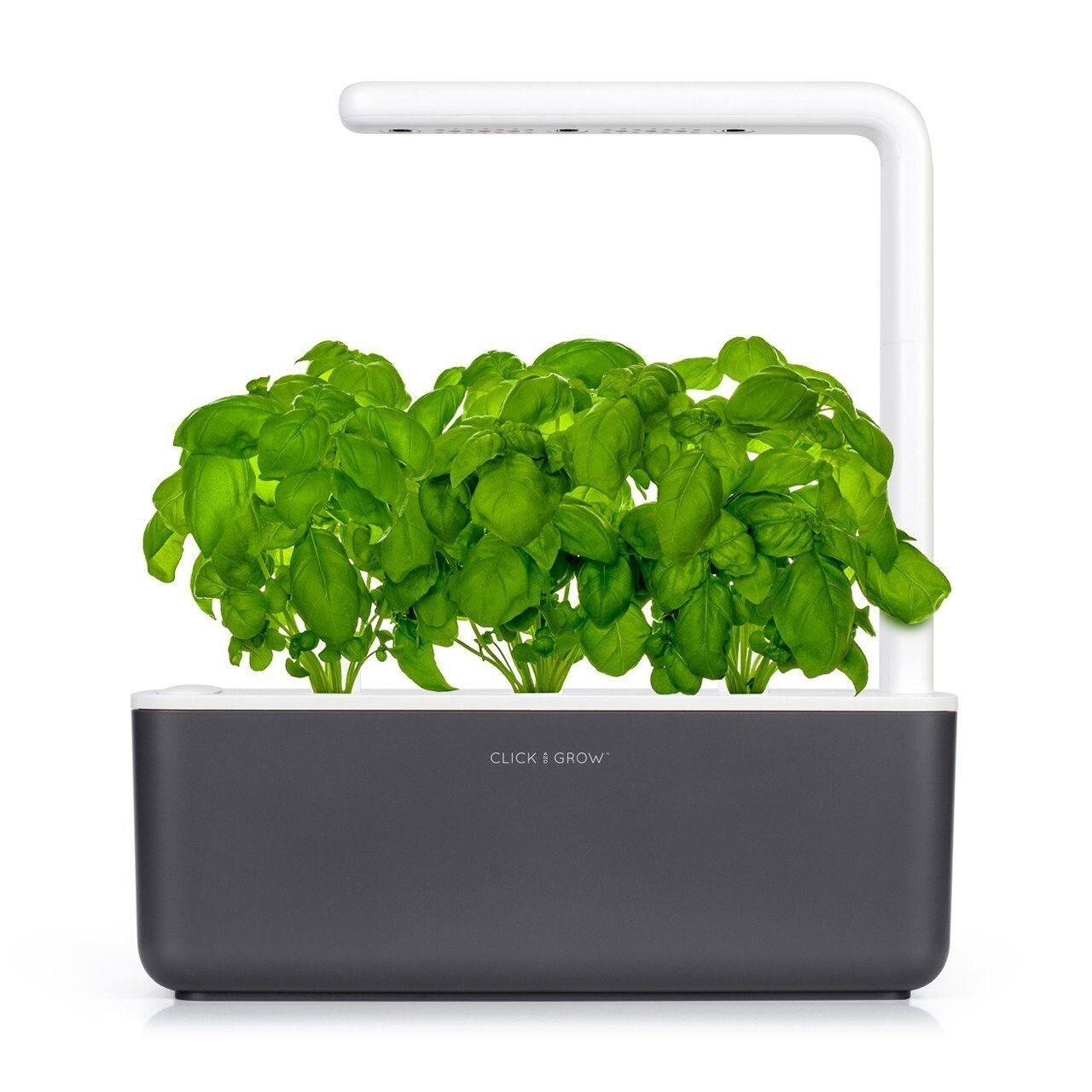 Click and Grow Jardin d'intérieur Smart Garden 3 Dark Grey - Click and Grow