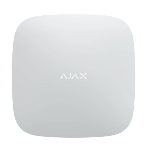Ajax Systems Centrale d'alarme professionnelle RJ45 + GPRS blanche - Ajax Systems