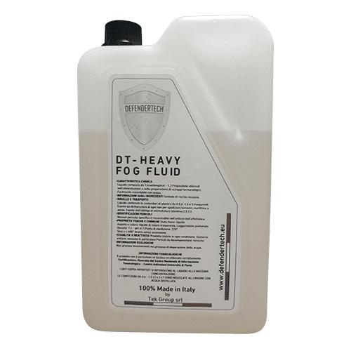 Defendertech Recharge liquide de fumée pour générateur de brouillard 1.5L - Defendertech