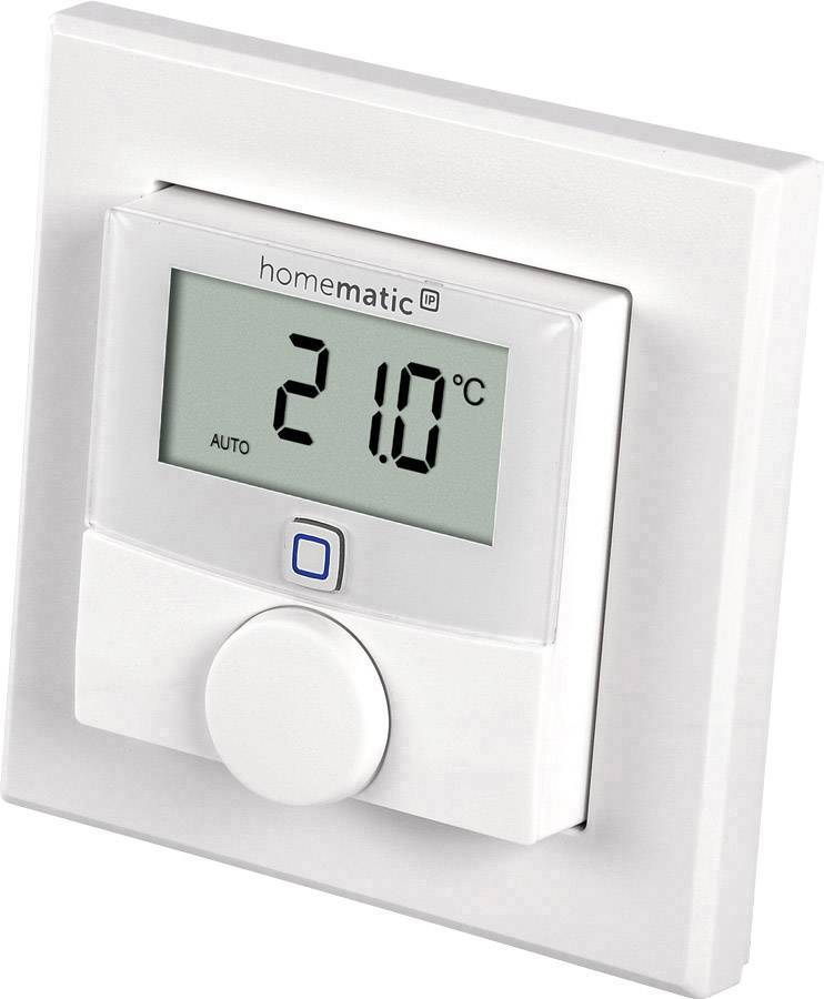 Homematic Thermostat mural sans fil - Homematic Ip