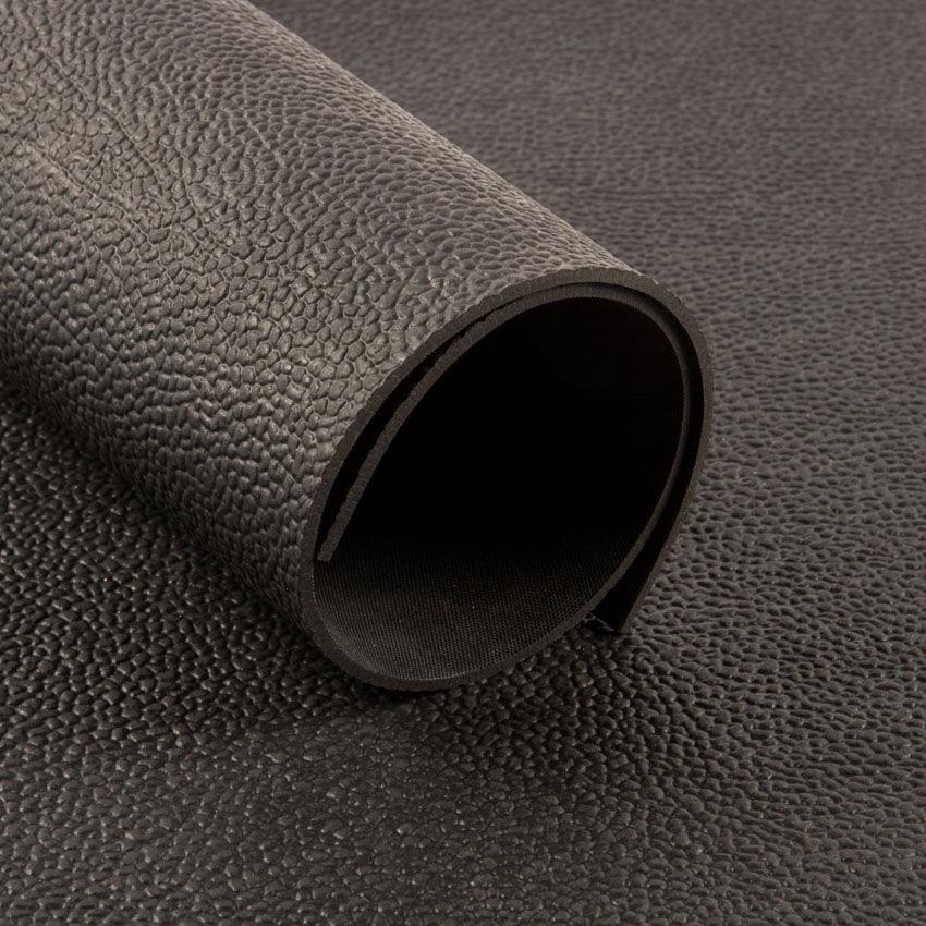 Planet Caoutchouc Tapis Mohawk noir 5mm (140cm)