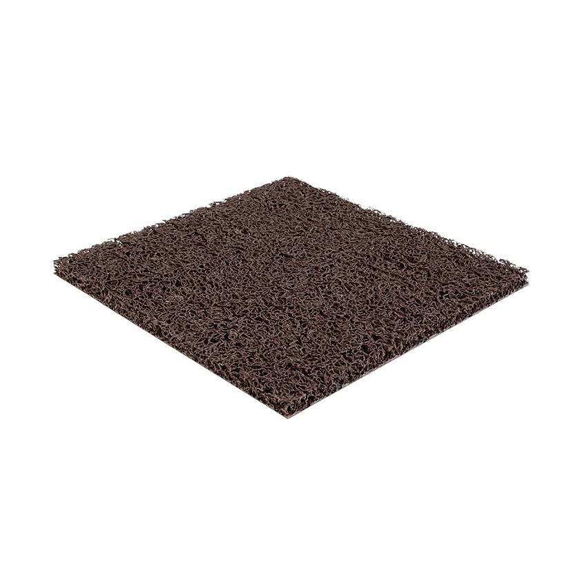 Planet Caoutchouc Tapis Spaghetti Marron 15mm (largeur 120cm)