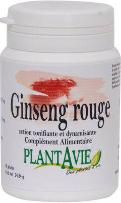Plantavie Ginseng rouge