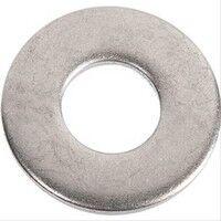 Rondelle plate Inox D1=8 D2=18 S=1,5 - boîte de 200