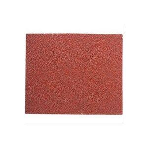 Plomberie-pro Feuille rectangulaire abrasive 114x140mm grain 80 vendu par 10
