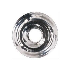 Plomberie-pro Rosace plate chromée Øext 25mm, Ø int 7mm vendu à la pièce