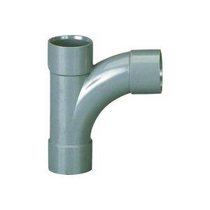 Plomberie-pro Pied de biche PVC à 87° FFF Ø 40X32X40