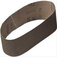 Bande abrasive corindon support toile 100x560mm G100 vendu par 10