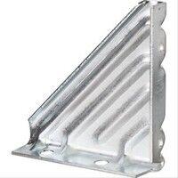 Plomberie-pro Support angulaire pour tige filetée Ø6 à Ø8mm ou rail R0 et R1