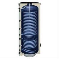 Plomberie-pro Ballon sanitaire acier 300 litres 2 serpentins dont 1 spécial pompe à chaleur 1700x600 Classe A+