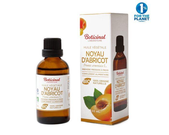 BOTICINAL LABORATOIRE Huile Végétale Bio - Noyau Abricot, 50ml