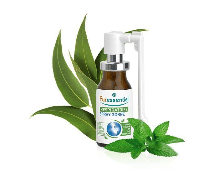 PURESSENTIEL Respiratoire – Spray Gorge, 15ml