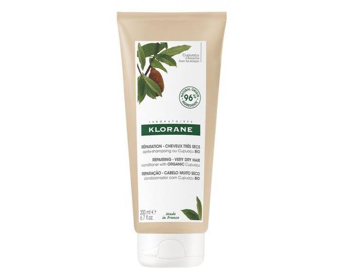 KLORANE Baume Après-Shampoing Nutrition et Réparation au beurre de Cupuaçu Bio, 200ml