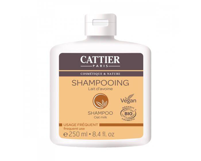 CATTIER Shampooing au Lait d'Avoine - usage fréquent - 250ml