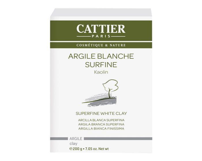CATTIER Argile Blanche Surfine, 200g