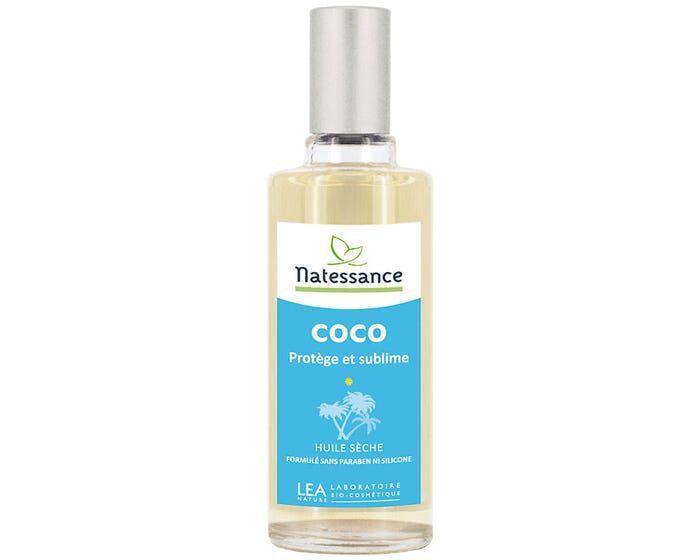 NATESSANCE Huile de coco sèche - Protège & sublime, 100ml