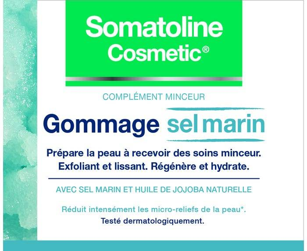 SOMATOLINE COSMETIC Gommage Sel Marin, 350g