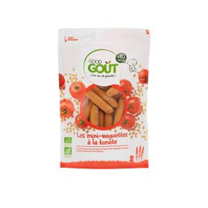 GOOD GOUT Mini-Baguette à la Tomate - Dès 10 mois, 70g - Publicité
