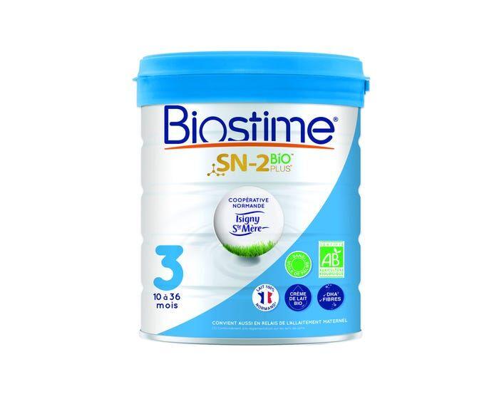 BIOSTIME Lait en Poudre SN-2 Bio Plus 3ème Âge, 800g