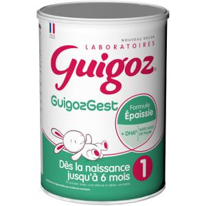 GUIGOZ GEST - Formule épaissie 1 lait en poudre, 800g - Publicité