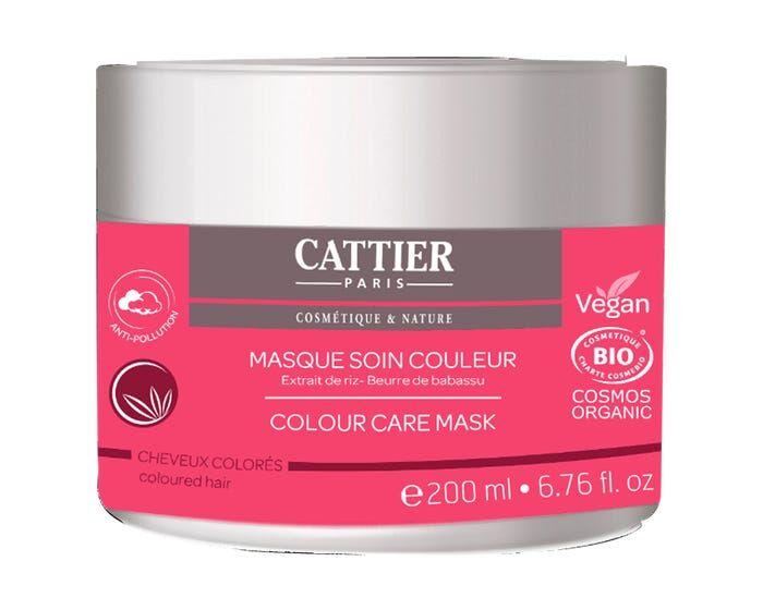 CATTIER Masque Soin Couleur Bio – Cheveux Colorés, 200ml