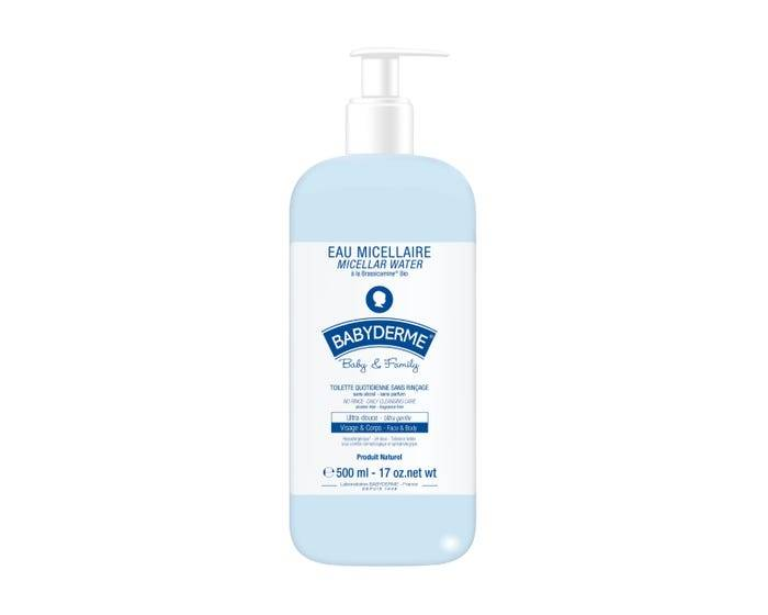 BABYDERME Baby & Family - Eau Micellaire, 500ml