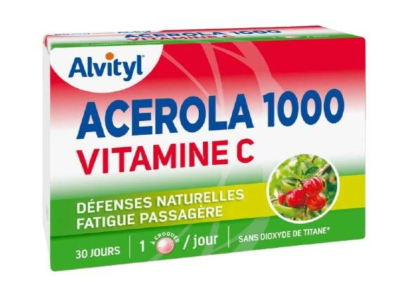 ALVITYL Acerola 1000 Vitamine C, 30 comprimés