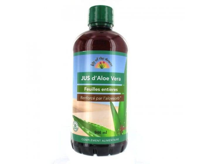 LILY OF THE DESERT Jus Aloe Vera feuilles entières 946ml