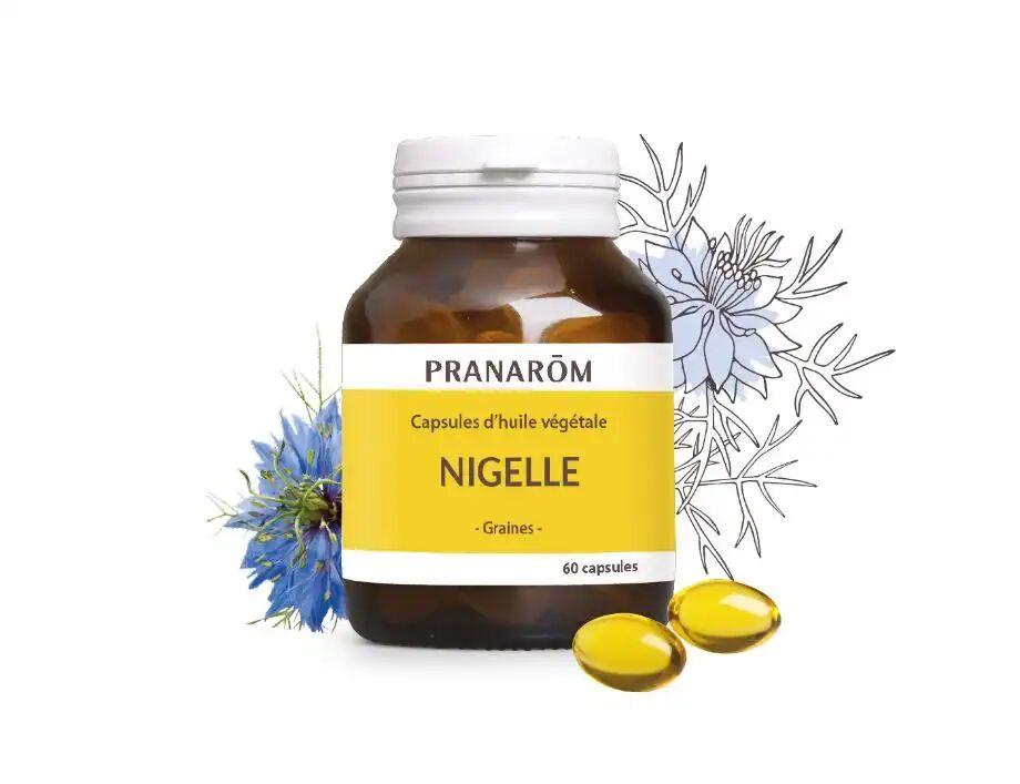 PRANAROM Huile Végétale Nigelle, 60 capsules