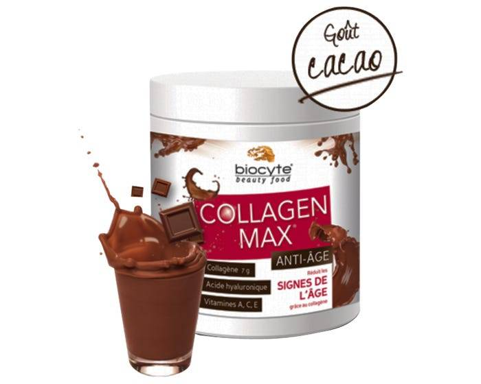 BIOCYTE Collagen Max Anti-Âge Cacao, 260g