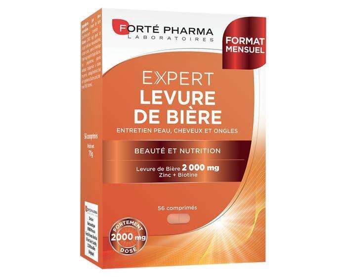FORTE PHARMA Expert Levure de Bière 2000, 56 Comprimés