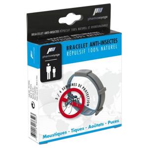 PHARMAVOYAGE Bracelet Anti-moustiques, 1 unité - Publicité