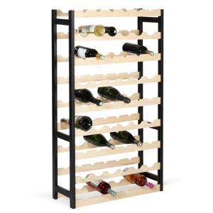 IDMarket Etagère à vin 54 bouteilles bois - Publicité