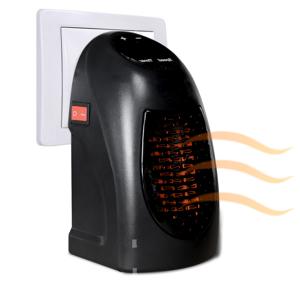 """IDMarket """"Chauffage d'appoint thermo-céramique 400 W sur prise"""" - Publicité"""