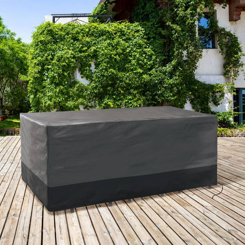 IDMarket Housse de protection pour table rectangulaire 250 x 200 x 74 CM