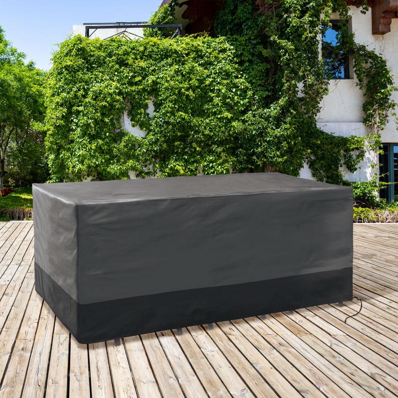 IDMarket 'Housse de protection pour table rectangulaire 250x200x74 CM'