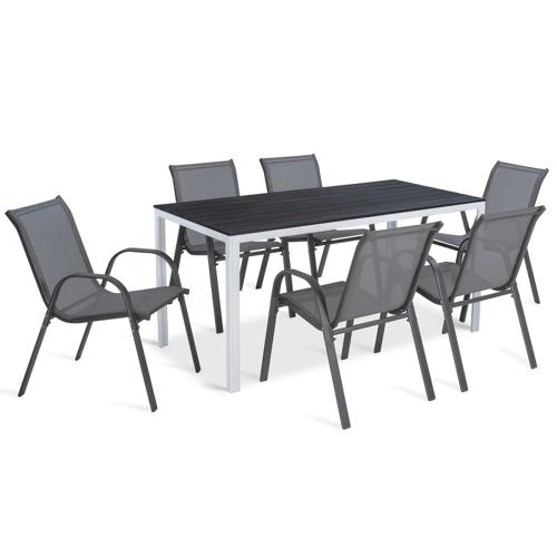 IDMarket Table de jardin SUNY 15...
