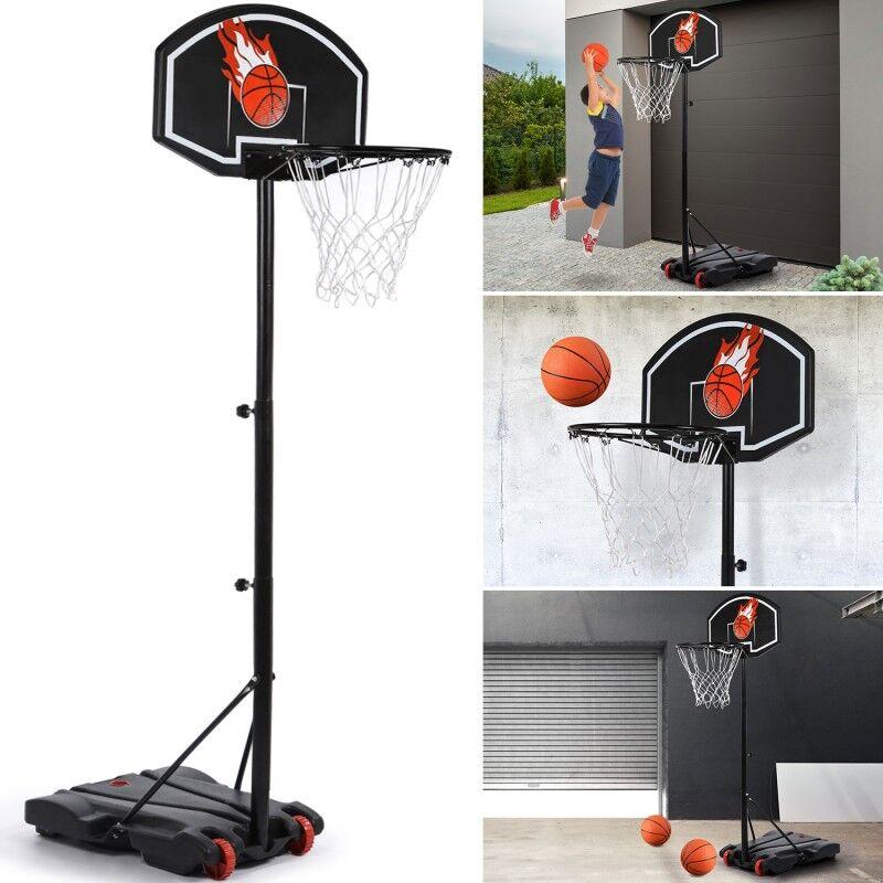 IDMarket 'Panier de basket sur pied hauteur réglable'