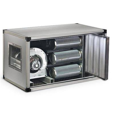 QDM Caisson de ventilation à charbons actifs dynamique 2700m3