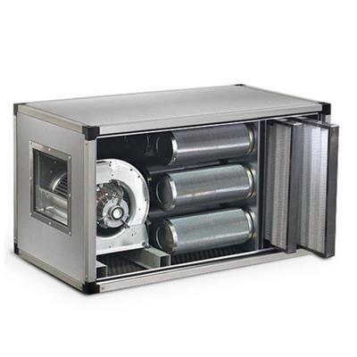 QDM Caisson de ventilation à charbons actifs dynamique 4600m3