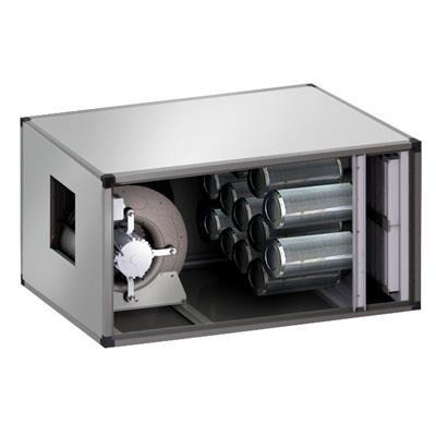 QDM Caisson de ventilation à charbons actifs dynamique 4400m3
