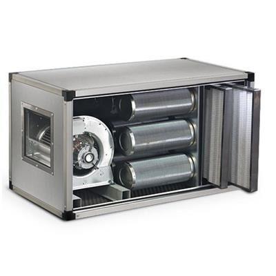 QDM Caisson de ventilation à charbons actifs dynamique 2000m3