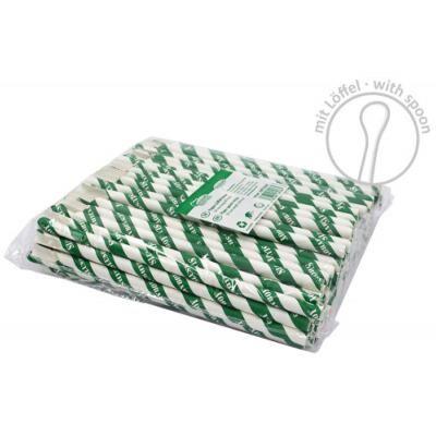 SLUSHYBOY Pailles en carton biodégradable x 6 000