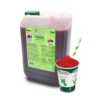 SLUSHYBOY Sirop granita sans sucre Slushyboy® Frozen Drinks x 12 L - FRAISE