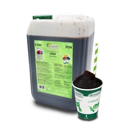 SLUSHYBOY Sirop granita sans sucre Slushyboy® Frozen Drinks x 12 L - COLA